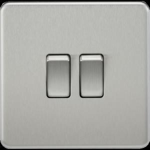 Screwless 10A 2G 2-Way Switch-SF2000-Knightsbridge