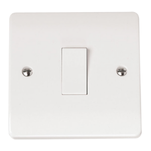 1-GANG INTERMEDIATE 10A PLATE SWITCH-CMA025-Scolmore