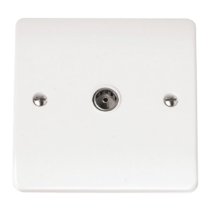 COAXIAL SOCKET SINGLE OUTLET-CMA065-Scolmore