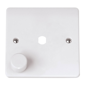 MODE 1 GANG SINGLE DIMMER PLATE & KNOB-CMA145PL-Scolmore