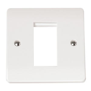 1 GANG SINGLE APERTURE FOR MEDIA MOD-CMA310-Scolmore