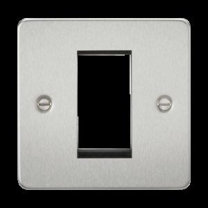 Flat Plate 1G Modular Faceplate-FP1G-Knightsbridge