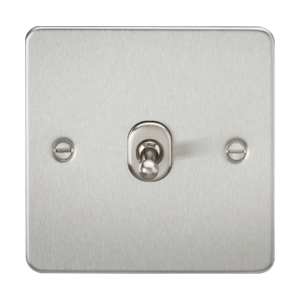 Flat Plate 10A 1G Intermediate Toggle Switch-FP12TOG-Knightsbridge