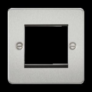 Flat Plate 2G modular faceplate-FP2G-Knightsbridge