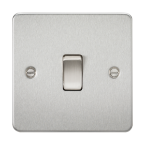 Flat Plate 20A 1G DP switch-FP8341-Knightsbridge
