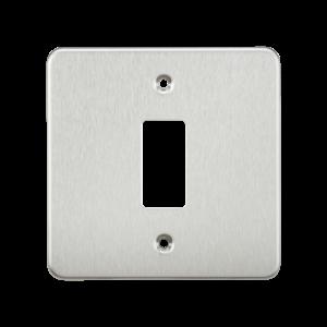 Flat plate 1G grid faceplate-GDFP001-Knightsbridge