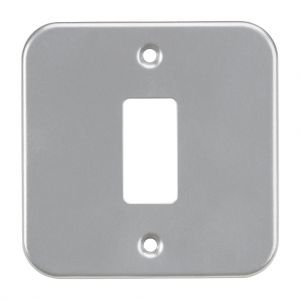 Metalclad 1G grid faceplate-GDFP001M-Knightsbridge