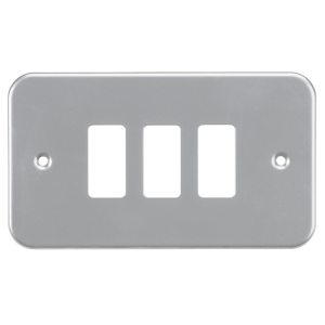 Metalclad 3G grid faceplate-GDFP003M-Kightsbridge