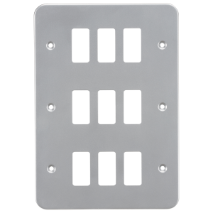 Metalclad 9G grid faceplate-GDFP009M-Knightsbridge