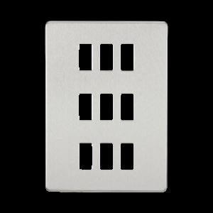 Screwless 9G grid faceplate-GDSF009-Knightsbridge
