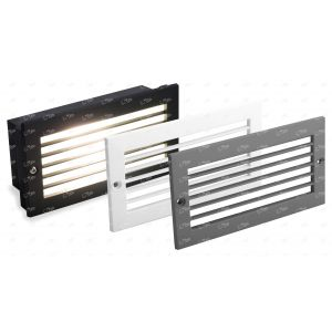 All Led Satin Silver/White Grill for ABL240BK Brick Light