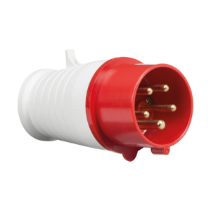 415V IP44 16A Plug 3P+N+E-IN0014-Knightsbridge