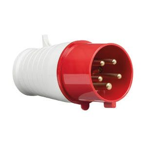 15V IP44 32A Plug 3P+N+E-IN0016-Knightsbridge