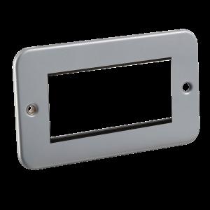 Metal Clad 4G Modular Faceplate-M4G-Knightsbridge