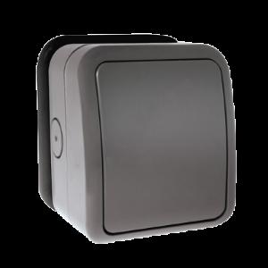 Click 1 Gang 2 Way Outdoor IP66 Weatherproof Outside Light Switch Socket 20mm
