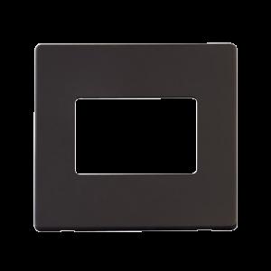1G PLATE TRIPLE APERT. PLATE - SCP403 - Scolmore