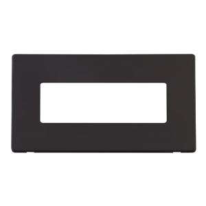 2G PLATE 6 IN-LINE APERT PLATE - SCP426 - Scolmore