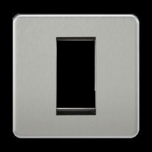 Screwless 1G Modular Faceplate-SF1G-Knightsbridge