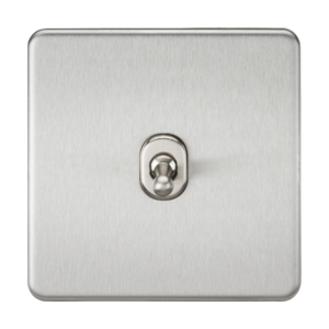 Screwless 10A 1G 2-Way Toggle Switch-SF1TOG-Knightsbridge