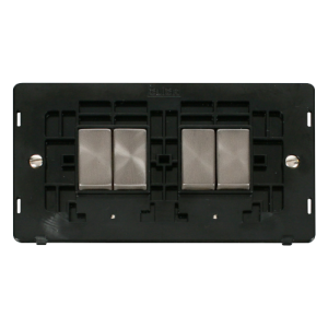 SS ING 10AX 4G 2 WAY SW INSERT - SIN414 - Scolmore