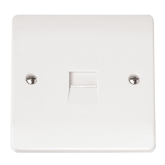 1G SINGLE TEL.OUTLET-CMA119-Scolmore