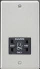 115-230V Dual Voltage Shaver Socket- Rounded Edge-CL89-Knightsbridge