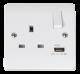 1G SP 13A SW SKT 2.1A USB CHARGER MODE-CMA771-Scolmore