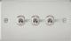 Flat Plate 10A 3G 2-way toggle switch-FP3TOG-Knightsbridge