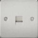 Flat Plate Telephone master socket-FP7300-Knightsbridge