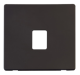 SINGLE RJ11/45 SKT OUTLET PLATE - SCP115 - Scolmore