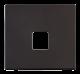 SINGLE TELEPHONE SKT PLATE - SCP120 - Scolmore