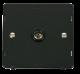 SINGLE CO-AXIAL SOCKET INSERT - SIN065 - Scolmore