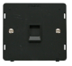 SINGLE RJ11 SOCKET OUTLET INSERT - SIN115 - Scolmore