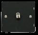 SINGLE SATELLITE SOCKET INSERT - SIN156 - Scolmore