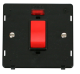 45A 1G PLATE DP SW+ NEON INSERT - SIN201 - Scolmore
