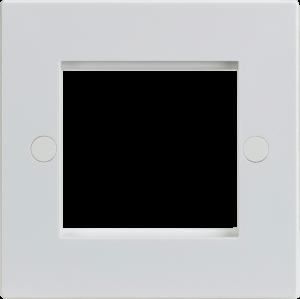 2G Modular Faceplate - White