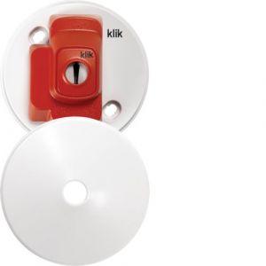 KLIK-AX 4-PIN C/ROSE WHITE-HAGER