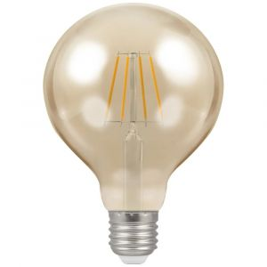 LED Globe G95 Filament Antique • Dimmable • 5W • 2200K • ES-E27