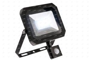 All Led Falcon IP65 Slimline Floodlight with PIR Sensor 10w