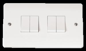 2G 4 APERTURE WITH 4 x RETRACTIVE MODULE-CMA-SMART4-Scolmore