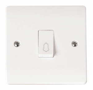 1-GANG 1 WAY 10A RETRACTIVE SWITCH BELL-CMA027-Scolmore