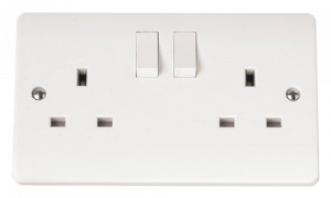 CLICK MODE 13A 2G SINGLE SWITCHED SOCKET CMA035