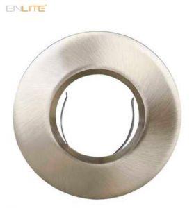 Enlite EFD Pro Satin Chrome 90mm Fixed IP65 Aluminium Bezel-EN-BZ93SN-ENLITE