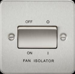 Flat Plate 10A 3 Pole Fan Isolator Switch-FP1100-Knightsbridge