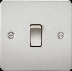 Flat Plate 10A 1G 2 Way Switch-FP2000-Knightsbridge
