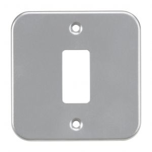 Metalclad 1G grid faceplate-GDFP001M-Knightsbridge