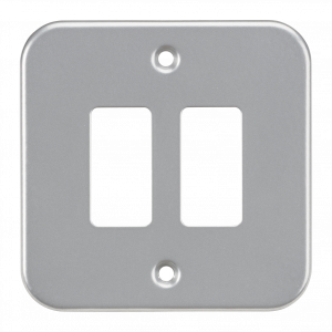 Metalclad 2G grid faceplate-GDFP002M-Knightsbridge