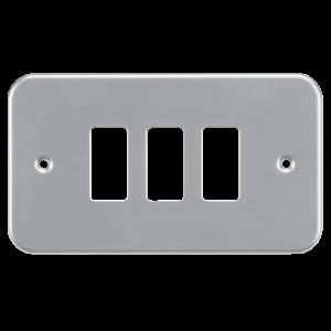 Metalclad 3G grid faceplate-GDFP003M-Kightsbridge