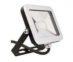 ispot 10W LED Floodlight - Black, 1