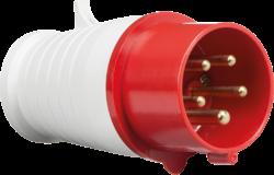 415V IP44 16A Plug 3P+N+E-IN0014-Knightsbridge